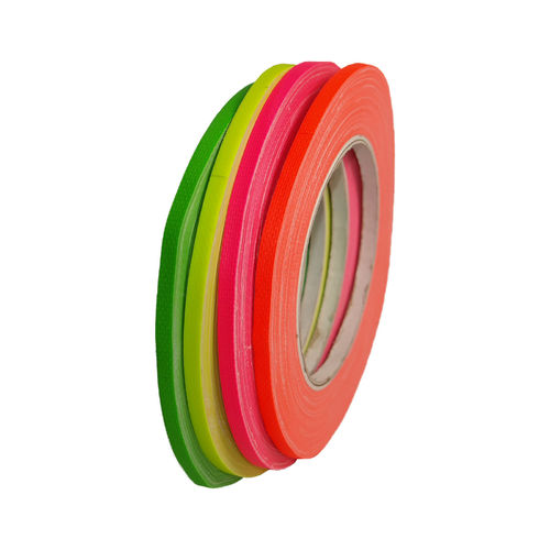 Neon 5mm x 25m Gaffa fabric tape adhesive tape