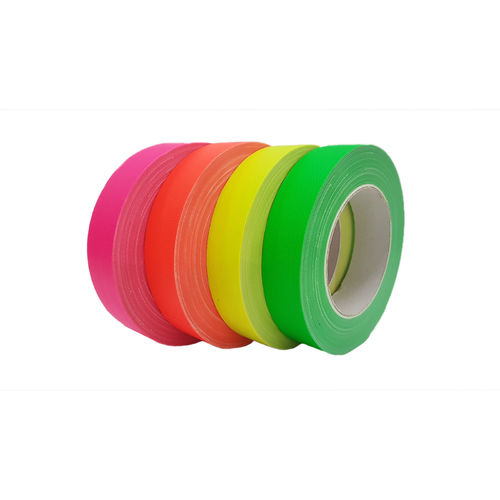 Neon 25mm x 25m Gaffa fabric tape UV-active