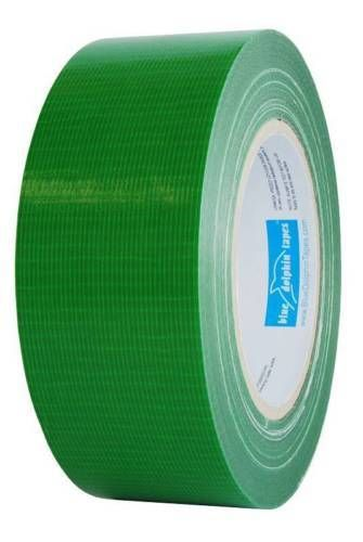 Blue Dolphin exterior duct tape smooth & semi rough surfaces Green - 48mm x 50m