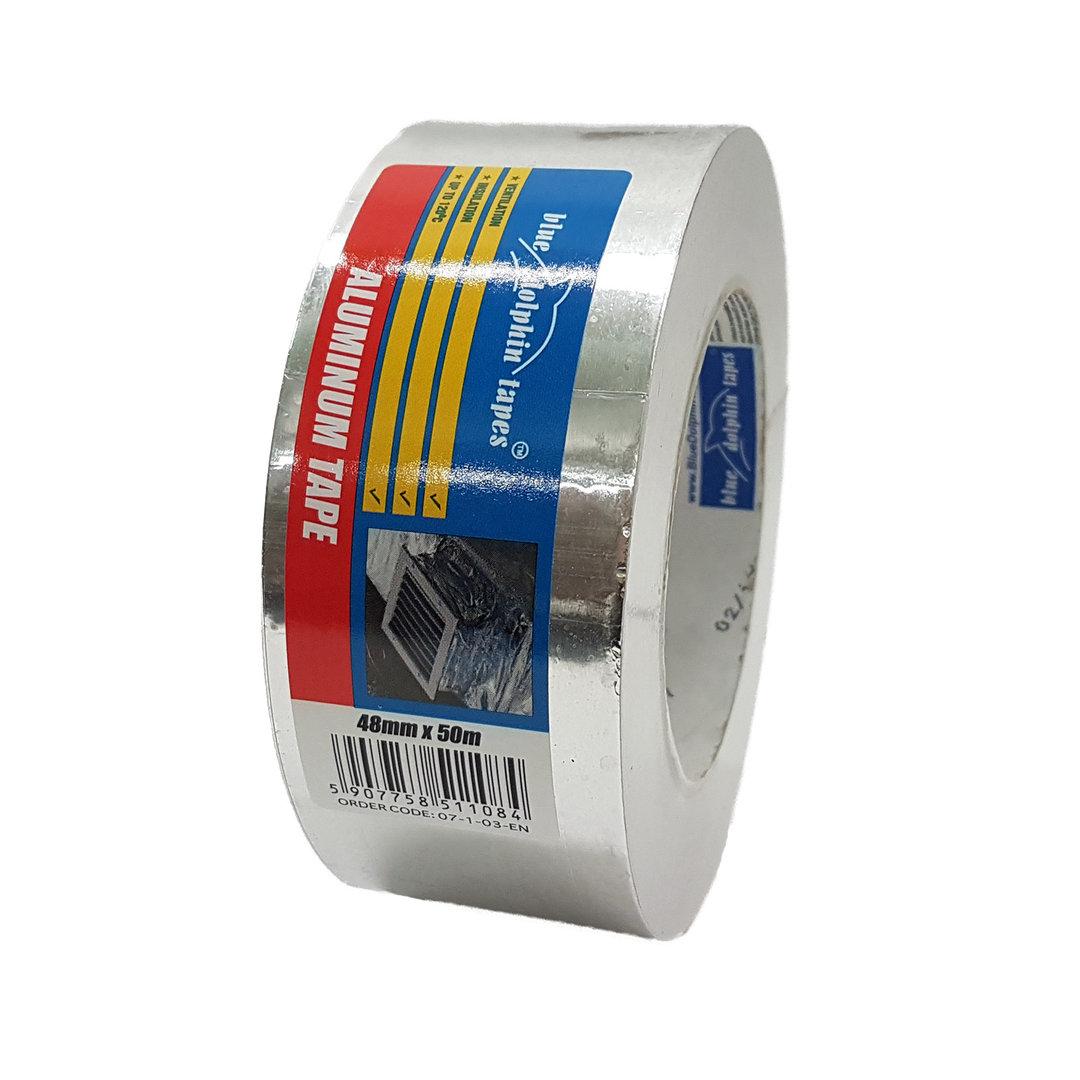 aluminium klebeband 48mm isolierung dampfsperre tape. Black Bedroom Furniture Sets. Home Design Ideas