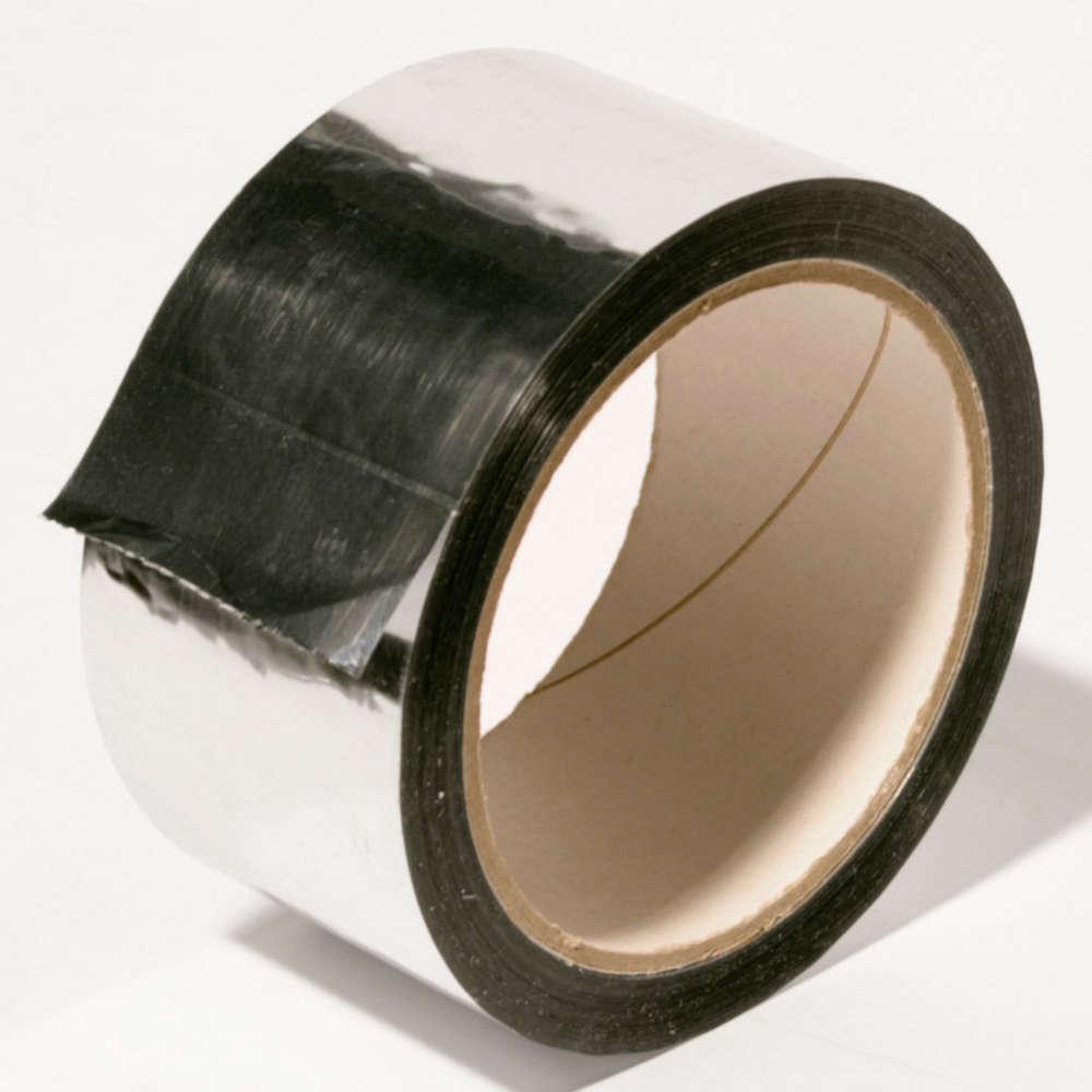 Dekoband Profiqualit/ät 48mm x 45m 3er-Pack Rollen silber gl/änzend Reparaturband Kreativ-Klebeband Alu-Klebeband selbstklebend Isolierband zum Abdichten oder D/ämmen