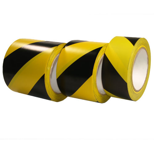 Floor Marking Tape Hazard Warning Tape BLACK/YELLOW
