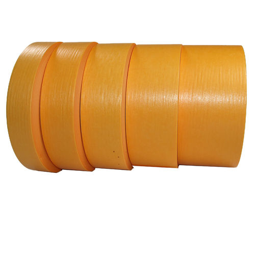 "High quality ""gold"" masking tape, for extremely sharp edges"