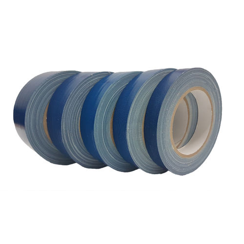 Fabric Tape Gaffa Tape Blue 25m Roll UV resistant Carrier Tape 0.310mm