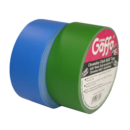 AT203 Chromakey Duct Tape Gaffa Tape 50mm X 25m matt Blue/Green Box Screen