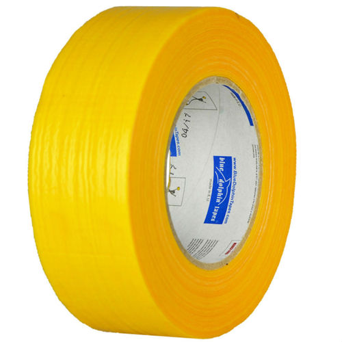 Blue Dolphin Fabric tape 48mm x 50m for silicate-silicone structured plaster brick concrete wood