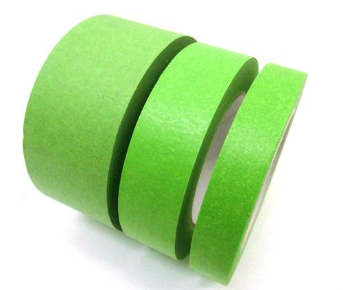 Waterproofing tape Water- wet-felting 50m rolls Profi-Plus green Tearproof crepe paper