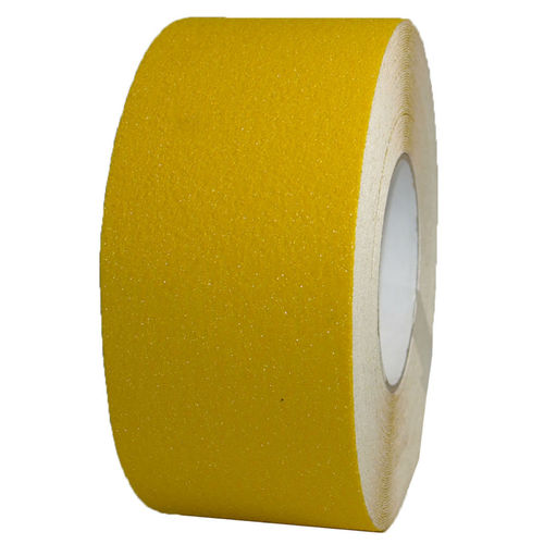 Anti-slip tape color yellow 75mm x 18m
