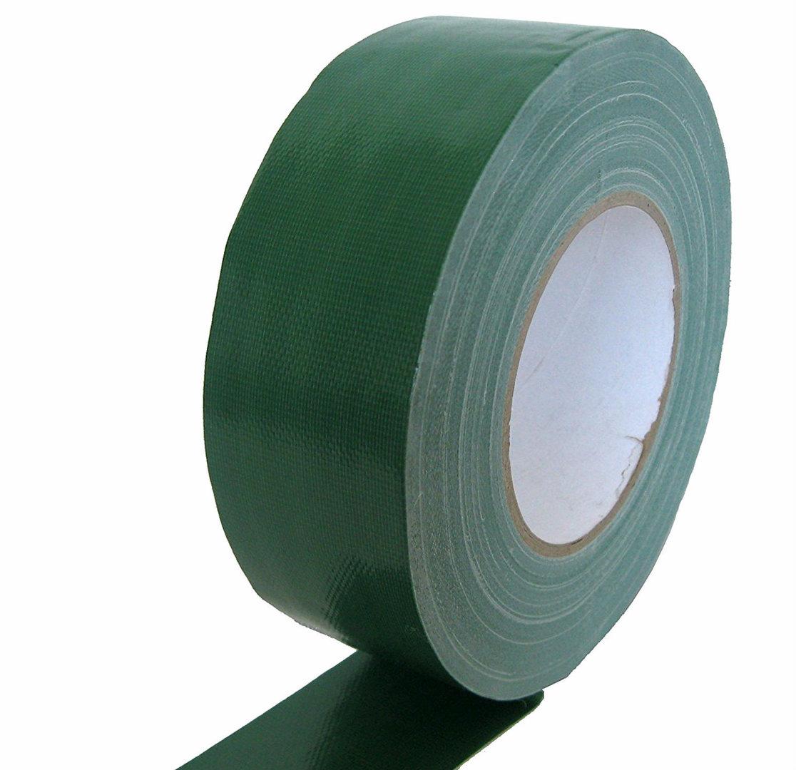 Klebeband Gewebeband grün Bühnen Messe Stage Tape Panzerband Teppich