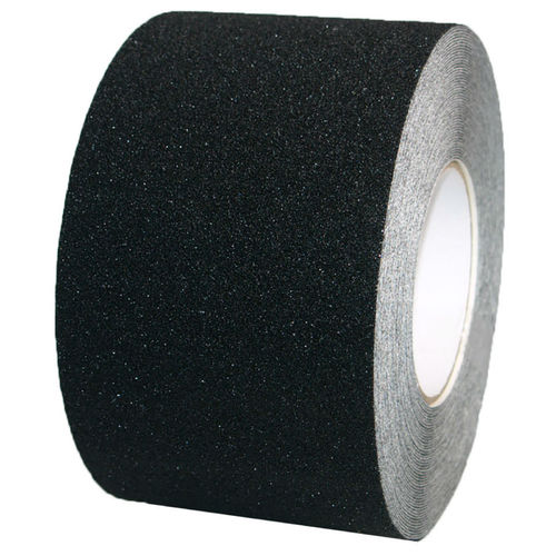 PVC Safety tape adhesive tape 100mm x 18m Black Self-adhesive