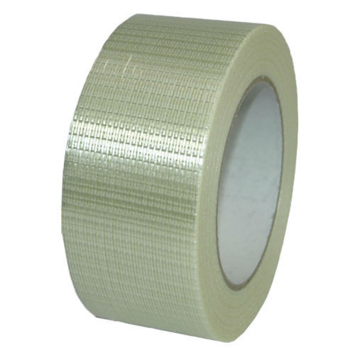 Filament tape 50mm x 50m Longitudinal reinforcement Cross woven Glass fiber reinforced