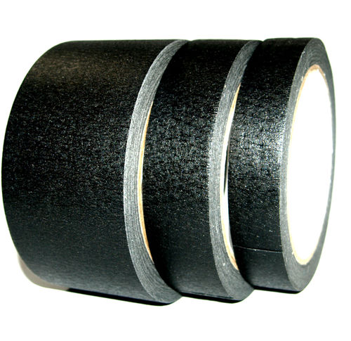MATT BLACK PAPER MASKING TAPE  PAINTING LAZER