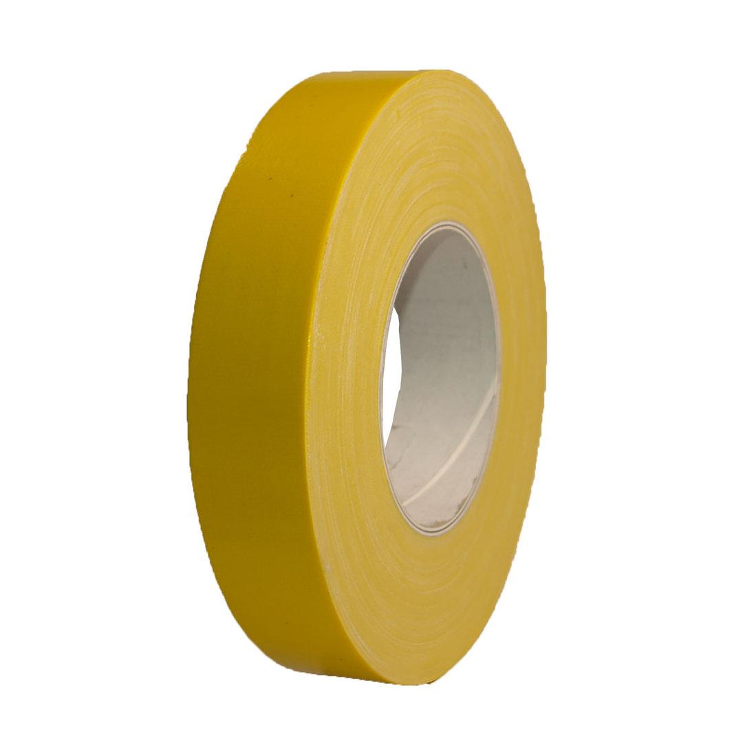 gewebeband gelb gaffa tape panzerband klebeband 50m. Black Bedroom Furniture Sets. Home Design Ideas