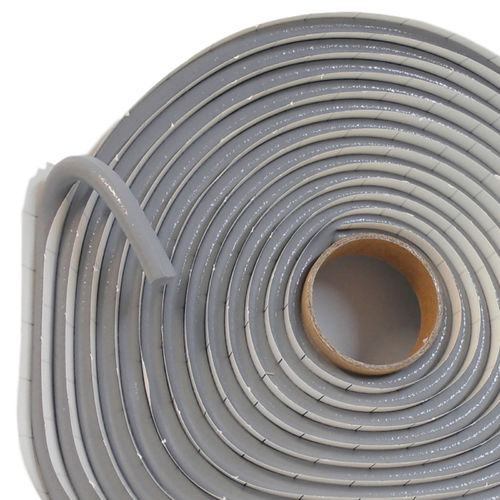 self-adhesive, butyl rubber based sealant extruded as sealing tape