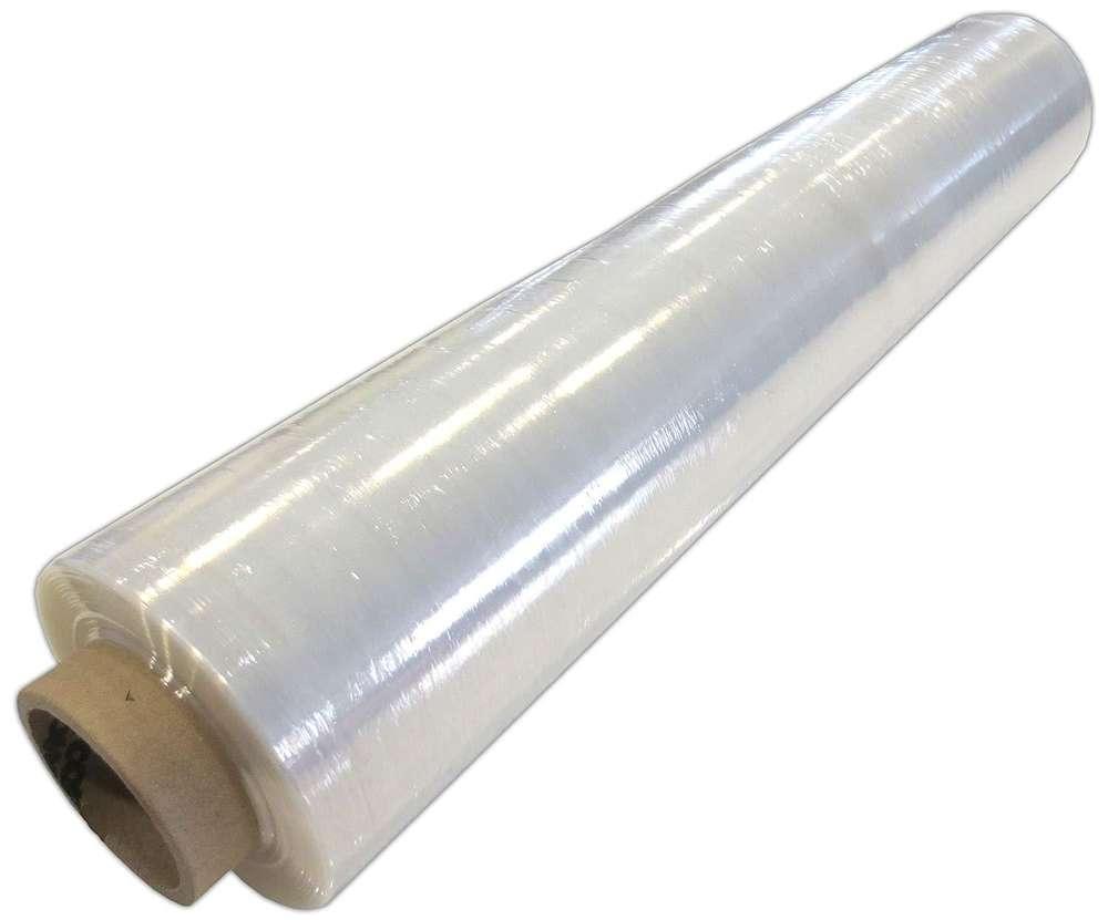 2 Rollen Stretchfolie 300 lfm 500 mm 20 my Paletten-folie transparent
